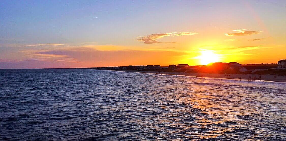 Sunset on Holden Beach