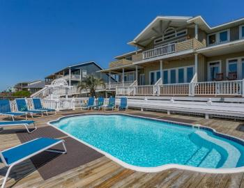 Heaven Sent 1285 Pool - Holden Beach Vacation Rental