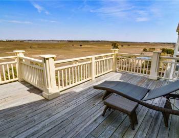 Holden Beach marsh-front vacation rental