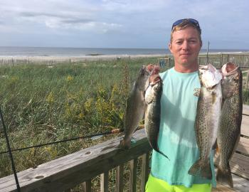 Trout Fishing in Holden Beach