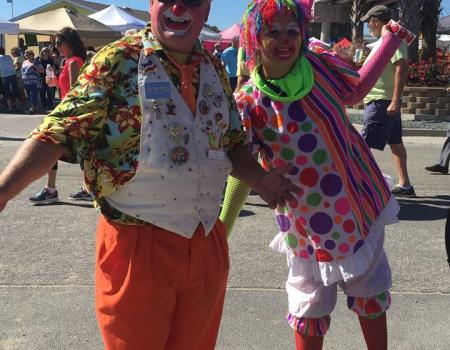 NC Festival by Sea the Beach Clowns