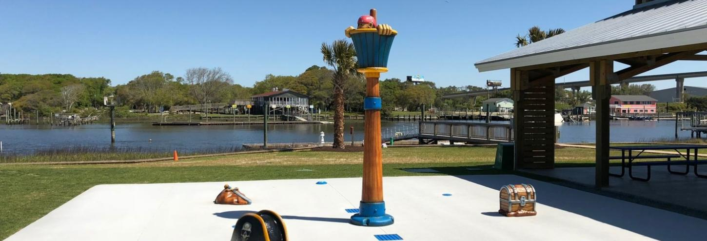 holden beach pirate splash pad