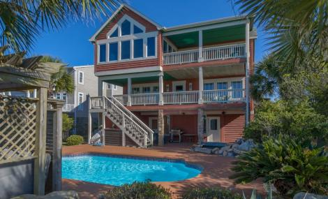 holden beach home with private pool