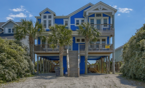 cockle shell 527 holden beach vacation rental