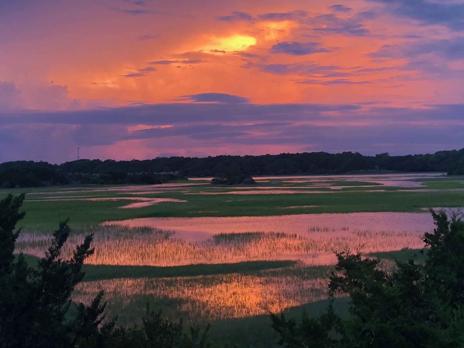 sunset on marsh 738 ocean blvd w