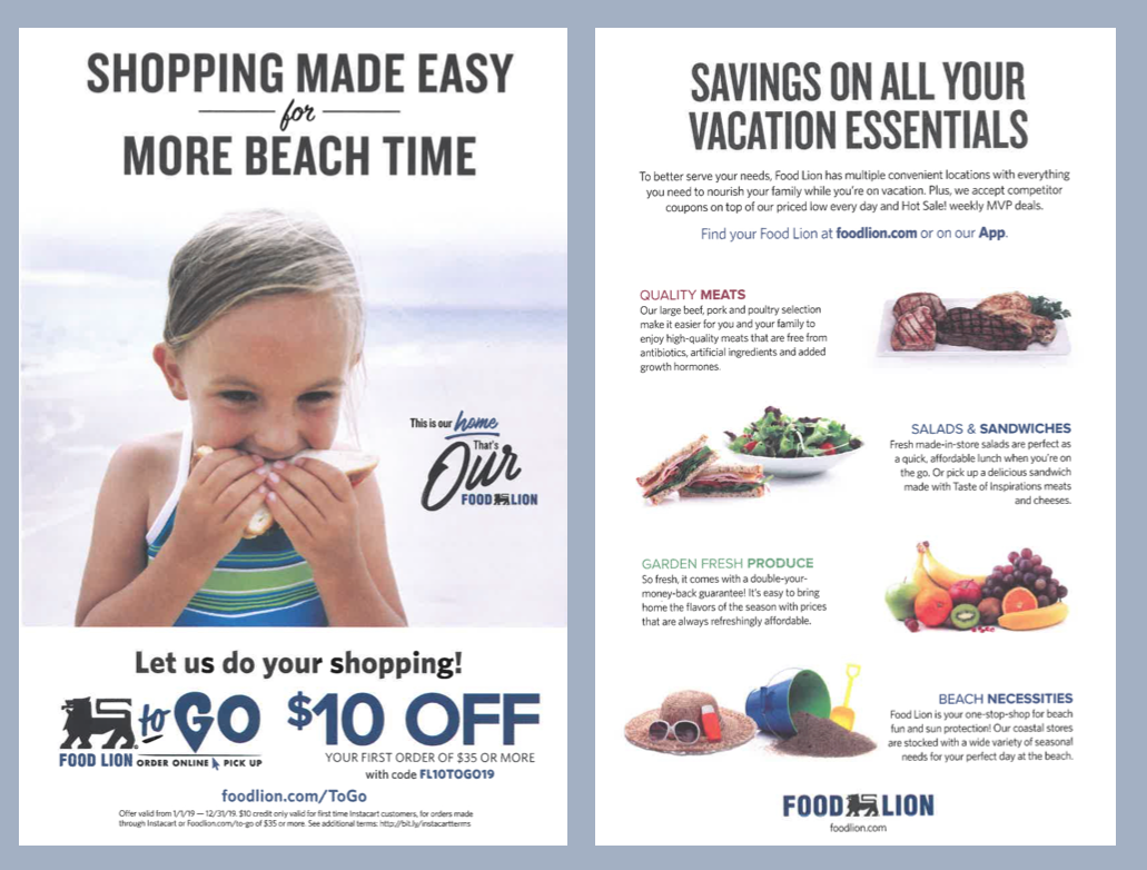 Food Lion To Go Holden Beach