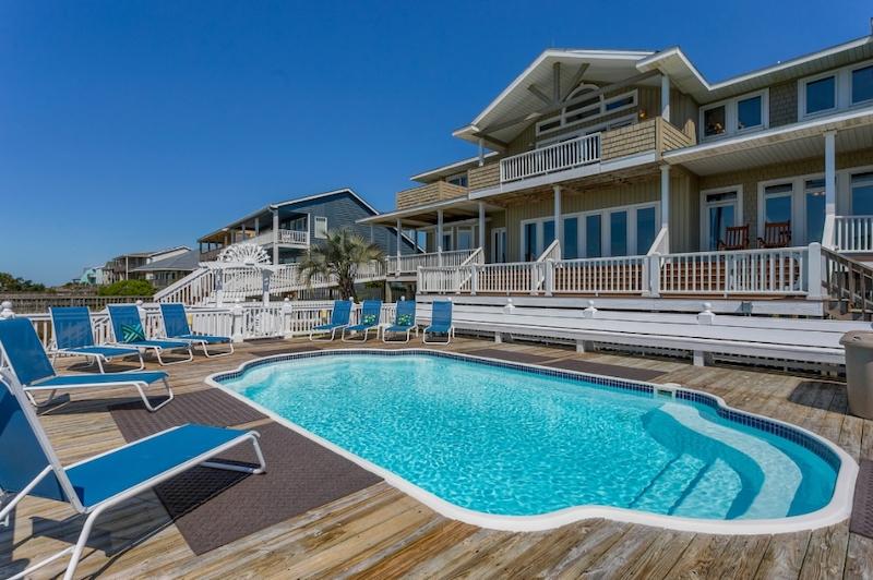 Heaven Sent 1285 Pool - Holden Beach Vacation Rental