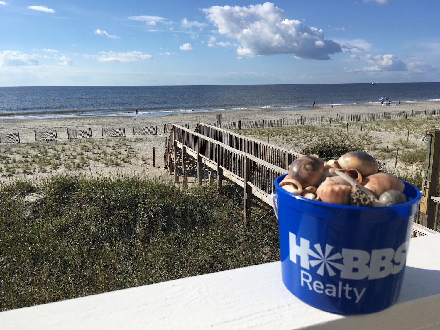Holden Beach Shell Collecting Bucket