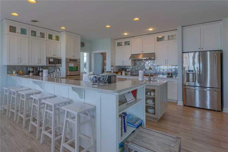 Sea'z The Dream 1363 OBW Kitchen - Holden Beach Vacation Rental