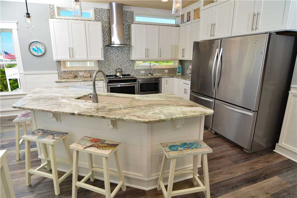 holden beach vacation rental kitchen